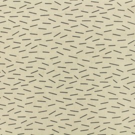 Linen Lines light linen viscose fabric by penelope® - raw x 10cm