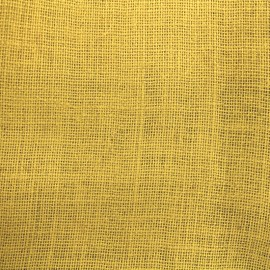 Colors Burlap canvas fabric - lemonade x 10cm