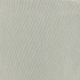 Tiny Stripes Embroidered Cotton voile Fabric - grey x 10cm