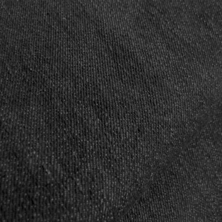 Jeans fabric - black x 10cm