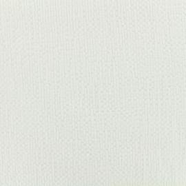 Tissu coton gaufré MPM - blanc x 10cm