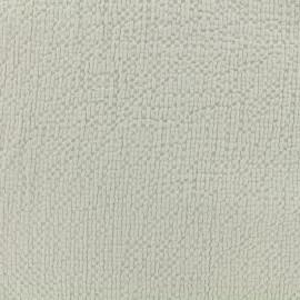 Embossed cotton fabric MPM - lichen x 10cm