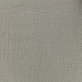 Embossed cotton fabric MPM - greige x 10cm