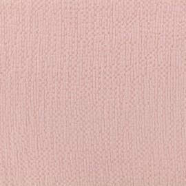 Embossed cotton fabric MPM - rose petal x 10cm