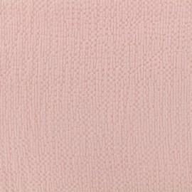 Tissu coton gaufré MPM - pétale de rose x 10cm