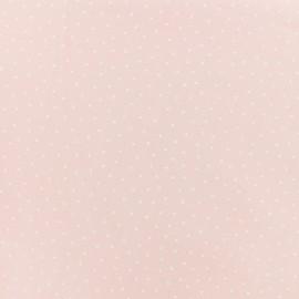 Tissu coton Karma - rose x 10cm