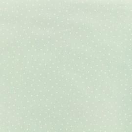 Tissu coton Karma - vert x 10cm