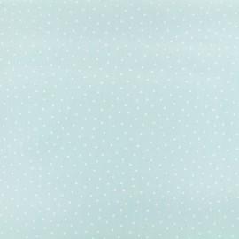 Tissu coton Karma - bleu x 10cm