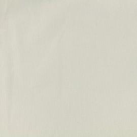 Tissu velours milleraies 200gr/ml - gris perle x10cm