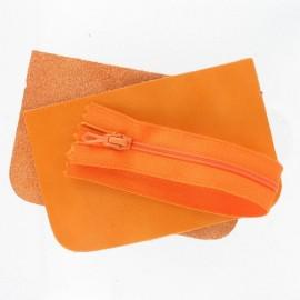 Kit petites pochettes cuir (16 coloris)