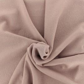 Tissu crêpe Pailleté - rose x 10cm