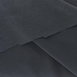 Tissu Mousseline Pailletée gris-argent x 50cm