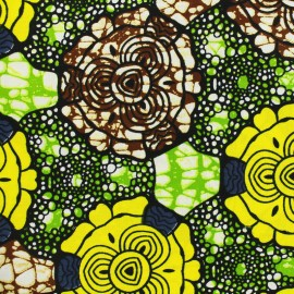 Tissu Wax - Chitonga x 10cm