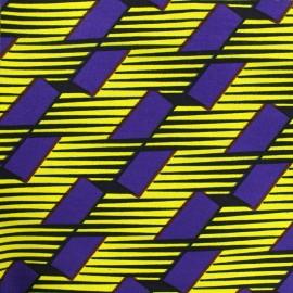 Tissu Wax - Kassem x 10cm