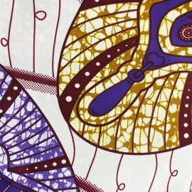 Tissu Wax - Kanyok x 10cm