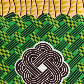 Tissu Wax - Kgalagadi x 10cm