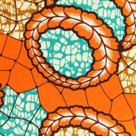 Tissu Wax - Kera x 10cm