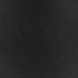 Tissu Lycra uni Dark - noir x 10cm