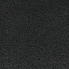 Tissu Jacquard léopard x 10cm