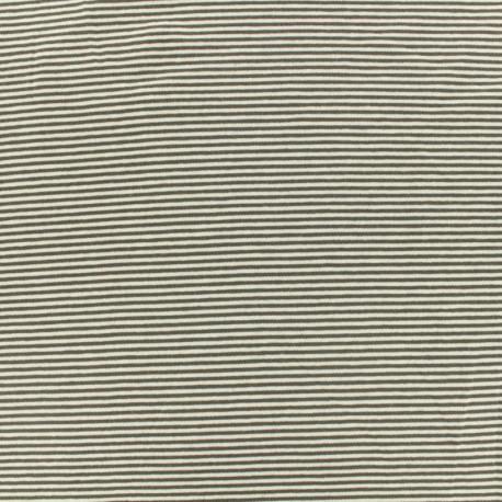 tissu jersey ray bateau gris fonc x 10cm. Black Bedroom Furniture Sets. Home Design Ideas