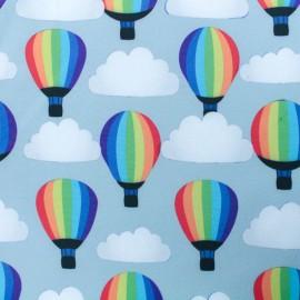 Tissu Softshell hot air balloon - gris x 10cm