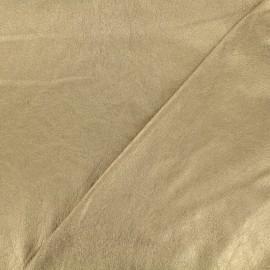 Simili cuir souple bronze x 10cm