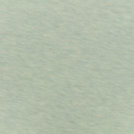 Tissu sweat léger chiné - perle d'eau x 10cm