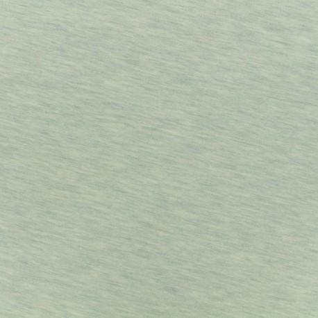 Tissu Oeko-Tex sweat léger chiné - perle d'eau x 10cm