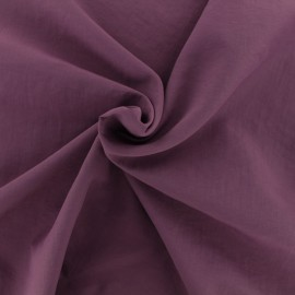 Smooth Water-repellent Softshell fabric - purple x 10cm