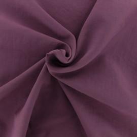 Tissu déperlant souple - violine x 10cm