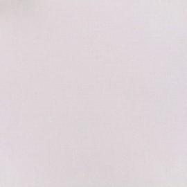 Tissu lin viscose irisé - blanc x 10cm