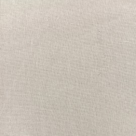 Tissu lin viscose irisé - silver x 10cm