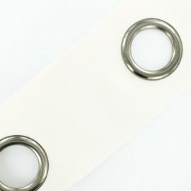 To sew color eyelet tape grun barrel - egg shell x 18cm