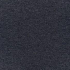 Tissu Néoprène Scuba double face uni - jeans x 10cm