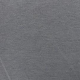 ♥ Only one piece 60 cm X 150 cm ♥ Bi face plain neoprene fabric Scuba - black