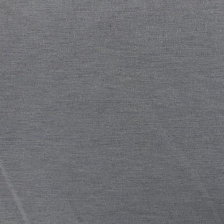 Bi face plain neoprene fabric Scuba - black x 10cm