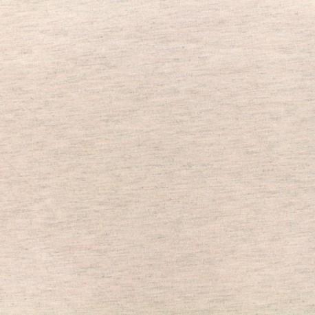 Bi face plain neoprene fabric Scuba - pink x 10cm