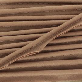 Passepoil tout textile mocha x 1m