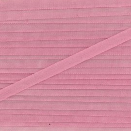 Silky aspect ribbon 4 mm - pink candy x 1m