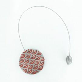 Magnetic curtain tieback Twenty - copper