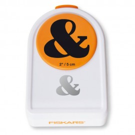 Punch pattern pierces - ampersand - Fiskars