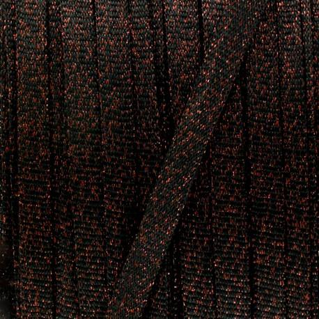Lurex knit cord - silver x 1m