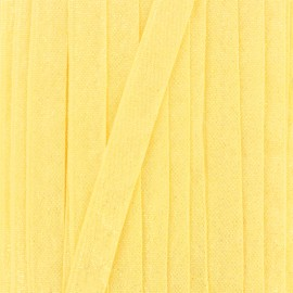 Ruban lurex sirène (15 mm) - jaune x 1m