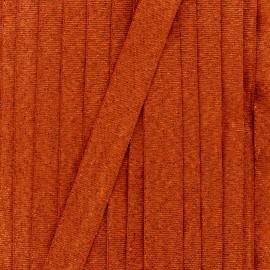 Ruban lurex sirène (15 mm) - cuivre x 1m