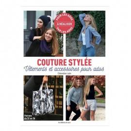 """Livre """"Couture stylée - Vêtements et accessoires pour ados"""""""
