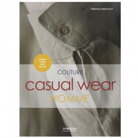 "Livre ""Couture homme - Casual wear"""