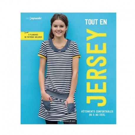 """Livre """"Tout en jersey - Vêtements confortables du S au XXXL"""""""
