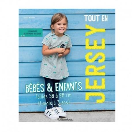 """Livre """"Tout en jersey Bébés & Enfants"""""""