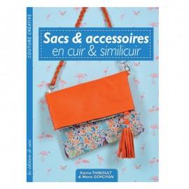 """Livre """"Sacs et accessoires en cuir et similicuir"""""""