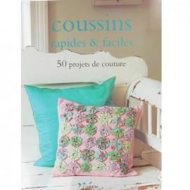 """Livre """"Coussins rapides & faciles"""""""